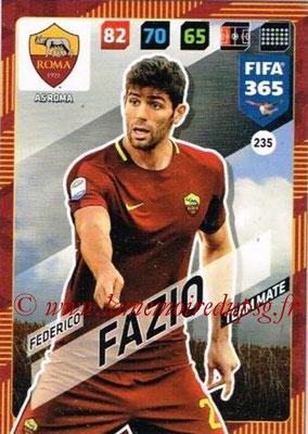 2017-18 - Panini FIFA 365 Cards - N° 235 - Federico FAZIO (AS Roma)