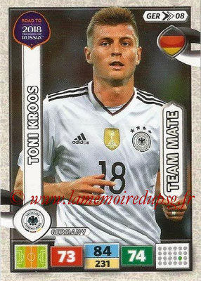 2018 - Panini Road to FIFA World Cup Russia Adrenalyn XL - N° GER08 - Toni KROOS (Allemagne)