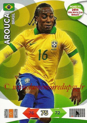 2014 - Panini Road to FIFA World Cup Brazil Adrenalyn XL - N° 023 - AROUCA (Brésil)
