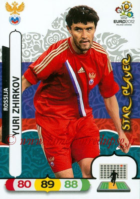 Panini Euro 2012 Cards Adrenalyn XL - N° 195 - Yuri ZHIRKOV (Russie) (Star Player)