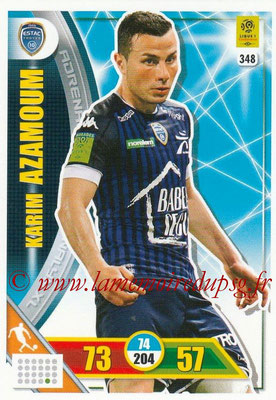 2017-18 - Panini Adrenalyn XL Ligue 1 - N° 348 - Karim AZAMOUM (Troyes)