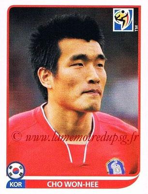 2010 - Panini FIFA World Cup South Africa Stickers - N° 155 - Cho WON-HEE (Corée du Sud)