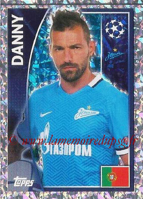 2015-16 - Topps UEFA Champions League Stickers - N° 531 - DANNY (FC Zenit)
