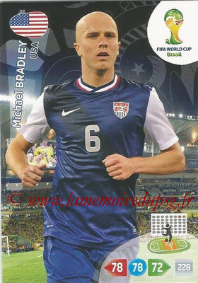 2014 - Panini FIFA World Cup Brazil Adrenalyn XL - N° 322 - Michael BRADLEY (Etats-Unis)