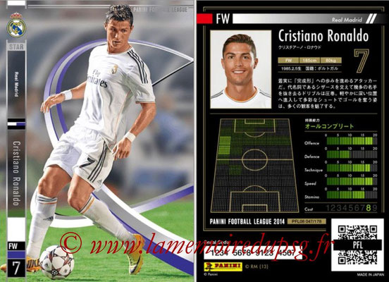 Panini Football League 2014 - PFL08 - N° 047 - Cristiano RONALDO (Real Madrid) (Star)