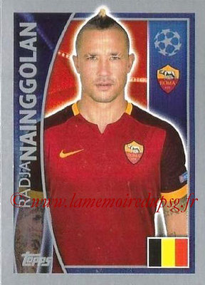 2015-16 - Topps UEFA Champions League Stickers - N° 342 - Radja NAINGGOLAN (AS Roma)