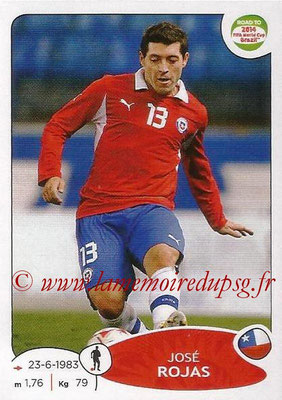 2014 - Panini Road to FIFA World Cup Brazil Stickers - N° 160 - José ROJAS (Chili)