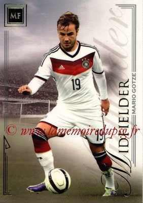 2014 - Futera World Football Unique - N° 041 - Mario GOTZE (Midfielder)