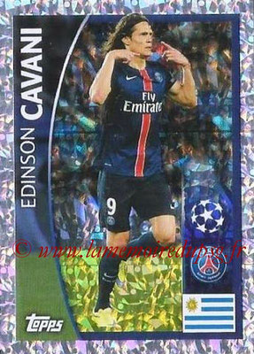 2015-16 - Topps UEFA Champions League Stickers - N° 007 - Edinson CAVANI (Paris Saint-Germain)