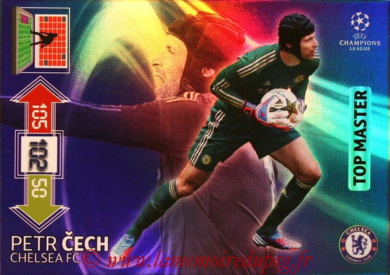2012-13 - Adrenalyn XL champions League N° 347 - Petr CECH (Chelsea FC) (Top Master)