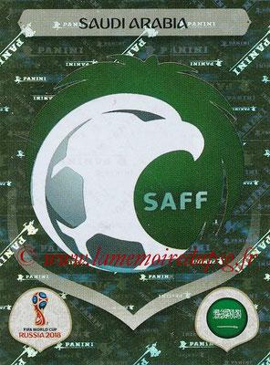 2018 - Panini FIFA World Cup Russia Stickers - N° 052 - Ecusson Arabie Saoudite
