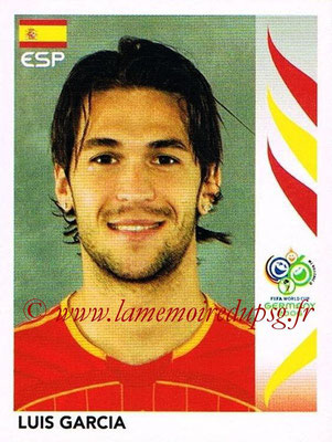 2006 - Panini FIFA World Cup Germany Stickers - N° 544 - Luis GARCIA (Espagne)