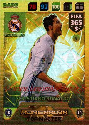 2017-18 - Panini FIFA 365 Cards - N° 008 - Cristiano RONALDO (Real Madrid CF) (Top Master)