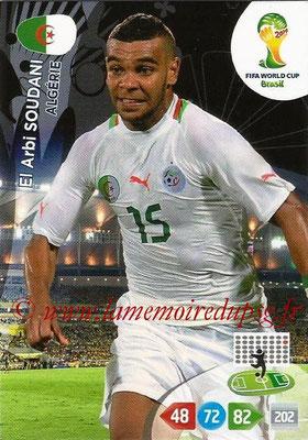 2014 - Panini FIFA World Cup Brazil Adrenalyn XL - N° 005 - El Arbi SOUDANI (Algérie)