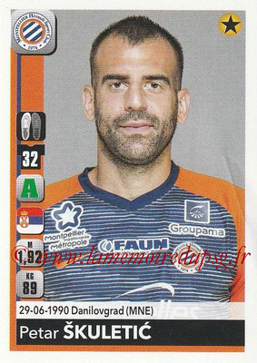 2018-19 - Panini Ligue 1 Stickers - N° 271 - Petar SKULETIC (Montpellier)