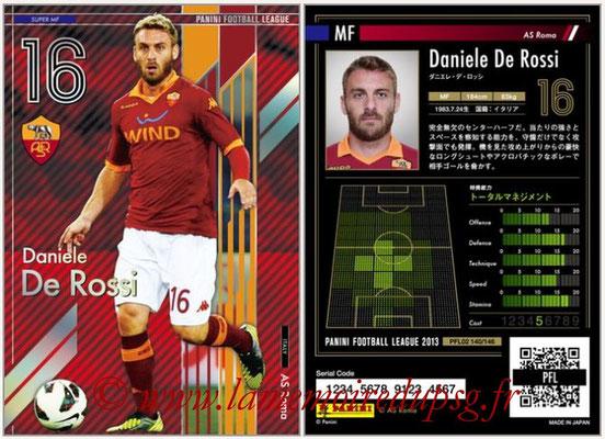 Panini Football League 2013 - PFL02 - N° 140 - Daniele De Rossi ( AS Roma ) (Super MF)