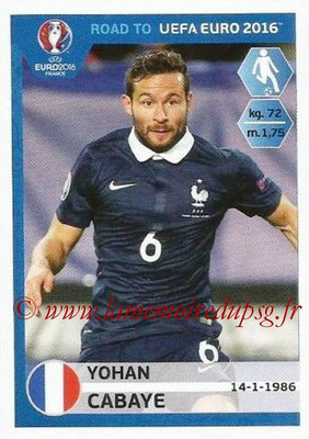N° 103 - Yohan CABAYE (Jan 2014-15, PSG > 2015, France)