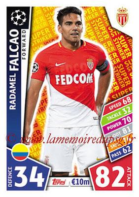 2017-18 - Topps UEFA Champions League Match Attax - N° SS14 - Radamel FALCAO (AS Monaco) (Super Strikers)