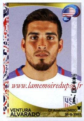 Panini Copa America Centenario USA 2016 Stickers - N° 026 - Ventura ALAVARADO (USA)