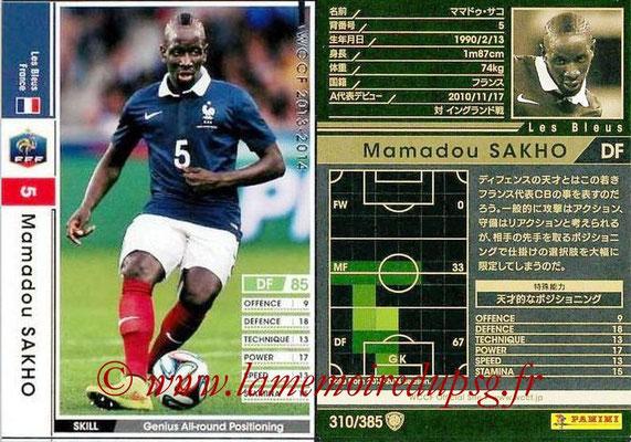 2013-14 - WCCF - N° 310 - Mamadou SAKHO (France)