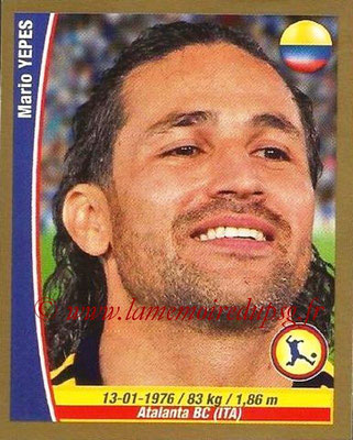 N° 124 - Mario YEPES (2004-08, PSG > 2014, Colombie)