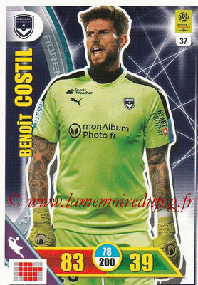 2017-18 - Panini Adrenalyn XL Ligue 1 - N° 037 - Benoît COSTIL (Bordeaux)