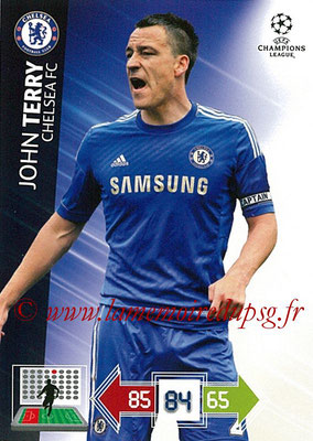 2012-13 - Adrenalyn XL champions League N° 085 - Gary CAHILL (Chelsea FC)