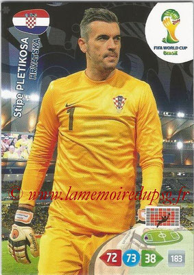 2014 - Panini FIFA World Cup Brazil Adrenalyn XL - N° 194 - Stipe PLETIKOSA (Croatie)