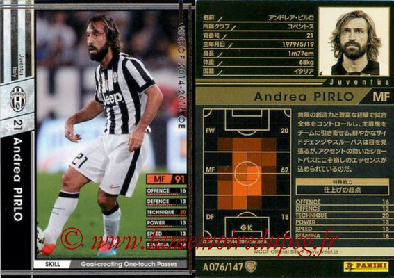 2014-15 - WCCF - N° A076 - Andrea PIRLO (Juventus FC)