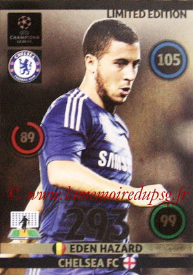2014-15 - Adrenalyn XL champions League N° LE-EH - Eden HAZARD (Chelsea FC) (Limited Edition)
