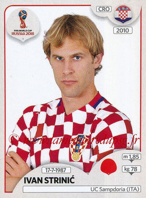 2018 - Panini FIFA World Cup Russia Stickers - N° 316 - Ivan STRINIC (Croatie)