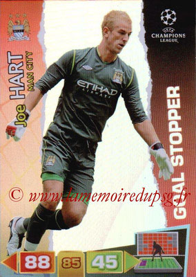 2011-12 - Panini Champions League Cards - N° 286 - Joe HART (Manchester City FC). (Goal Stopper)