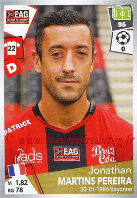2017-18 - Panini Ligue 1 Stickers - N° 135 - Jonathan MARTINS PEREIRA (Guingamp)