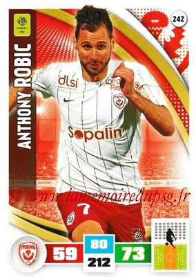 2016-17 - Panini Adrenalyn XL Ligue 1 - N° 242 - Anthony ROBIC (Nancy)