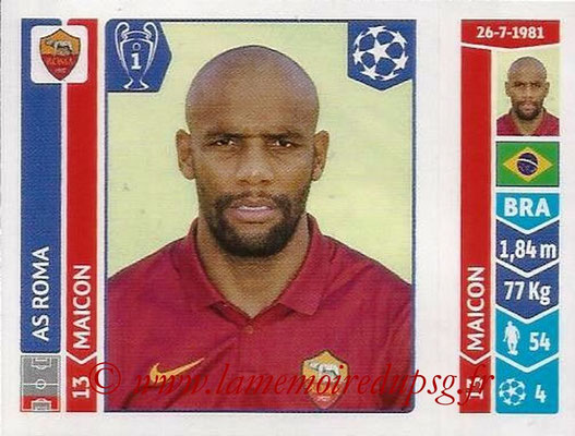 2014-15 - Panini Champions League N° 400 - MAICON (AS Rome)