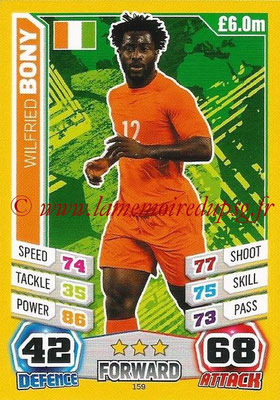 Topps Match Attax England 2014 - N° 159 - Wilfried BONY (Irlande)