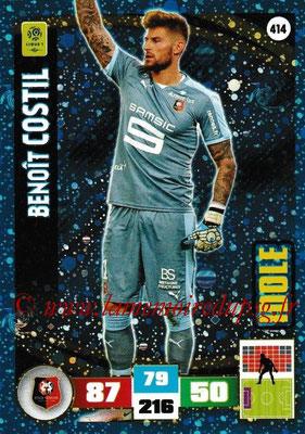 2016-17 - Panini Adrenalyn XL Ligue 1 - N° 414 - Benoît COSTIL (Rennes) (Idole)