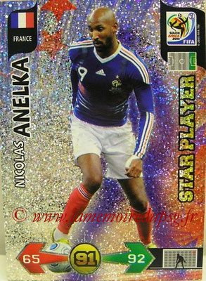 N° 160 - Nicolas ANELKA (1995-97 et 2000-Janv 02, PSG > 2010, France) (Star Player)