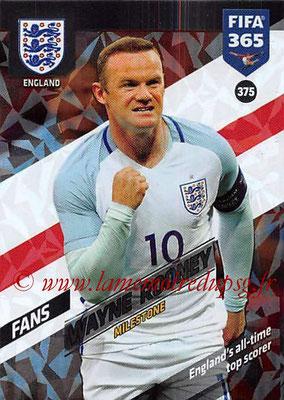 2017-18 - Panini FIFA 365 Cards - N° 375 - Wayne ROONEY (Angleterre) (Milestone)