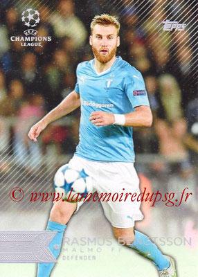 2015-16 - Topps UEFA Champions League Showcase Soccer - N° 024 - Rasmus BENGTSSON (Malmö FF)
