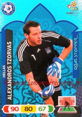 Panini Euro 2012 Cards Adrenalyn XL - N° 231 - Alexandros TZORVAS (Grèce) (Goal Stopper)