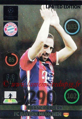 2014-15 - Adrenalyn XL champions League N° LE-FR - Franck RIBERY (Bayern Munich) (Limited Edition)