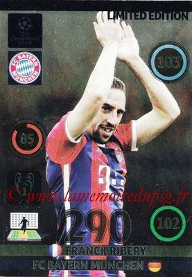 2014-15 - Adrenalyn XL champions League N° LE-FR - Franck RIBERY (Bayern Munich) (Limited Edition)