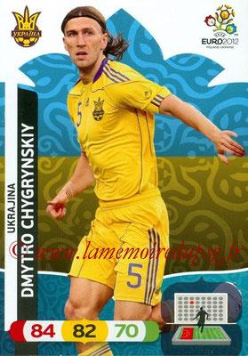 Panini Euro 2012 Cards Adrenalyn XL - N° 215 - Dmytro CHYGRYNSKIY (Ukraine)