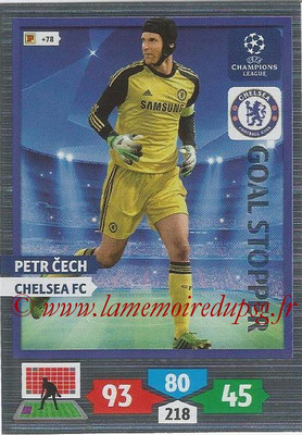 2013-14 - Adrenalyn XL champions League N° 323 - Petr CECH (Chelsea FC) (Goal Stopper)