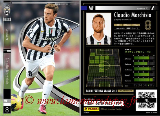 Panini Football League 2014 - PFL08 - N° 011 - Claudio MARCHISIO (Juventus FC) (Star)