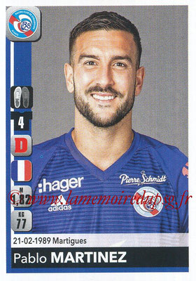 2018-19 - Panini Ligue 1 Stickers - N° 456 - Pablo MARTINEZ (Strasbourg)
