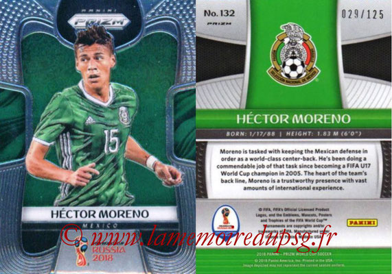2018 - Panini Prizm FIFA World Cup Russia - N° 132 - Hector MORENO (Mexique)