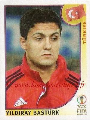 2002 - Panini FIFA World Cup Stickers - N° 201 - Yildiray BASTURK (Turquie)