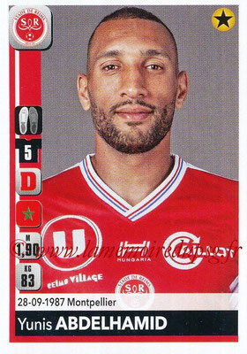 2018-19 - Panini Ligue 1 Stickers - N° 378 - Yunis ABDELHAMID (Reims)